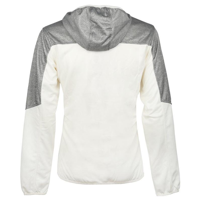 Q1905 Men Q Club hooded jacket  -  snow white