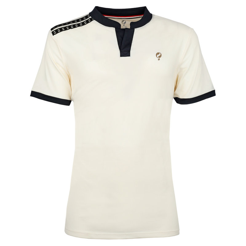 Q1905 Heren Q Club polo  -  snow white