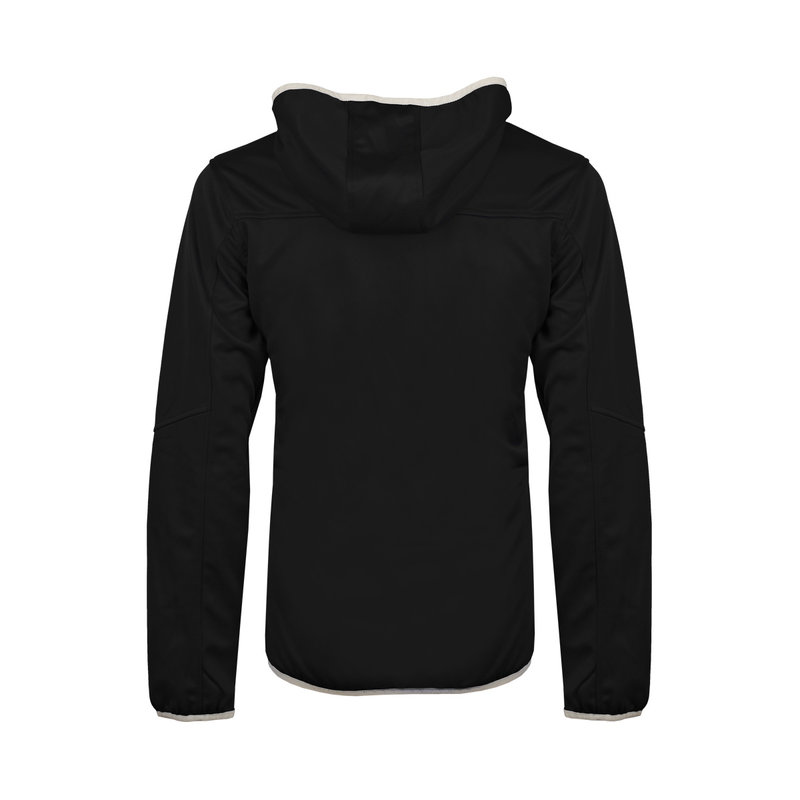 Q1905 Kids Q Club hooded jacket  -  blue graphite