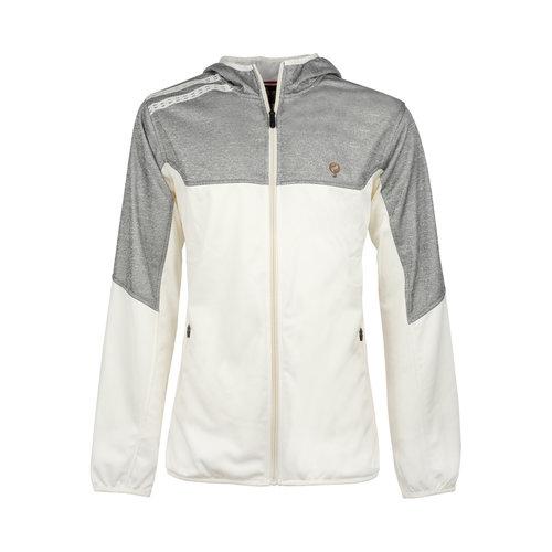 Kids Q Club hooded jacket  -  snow white