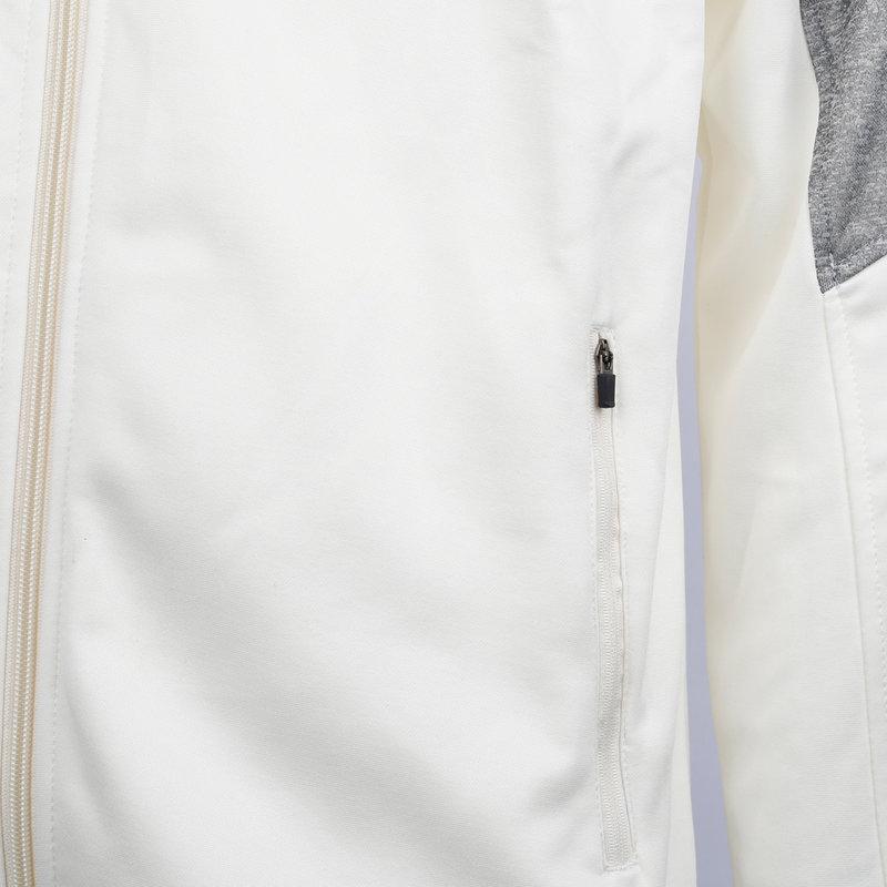 Q1905 Kids Q Club hooded jacket  -  snow white