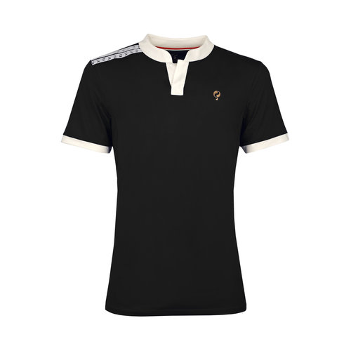 Kids Q Club polo B  -  blue graphite