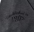 Q1905 Heren Polo Blaricum  -  Antraciet Grijs