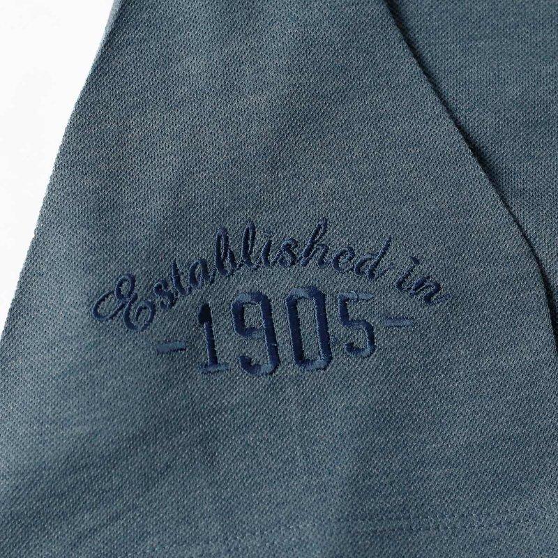 Q1905 Heren Polo Willemstad  -  Denim Blauw
