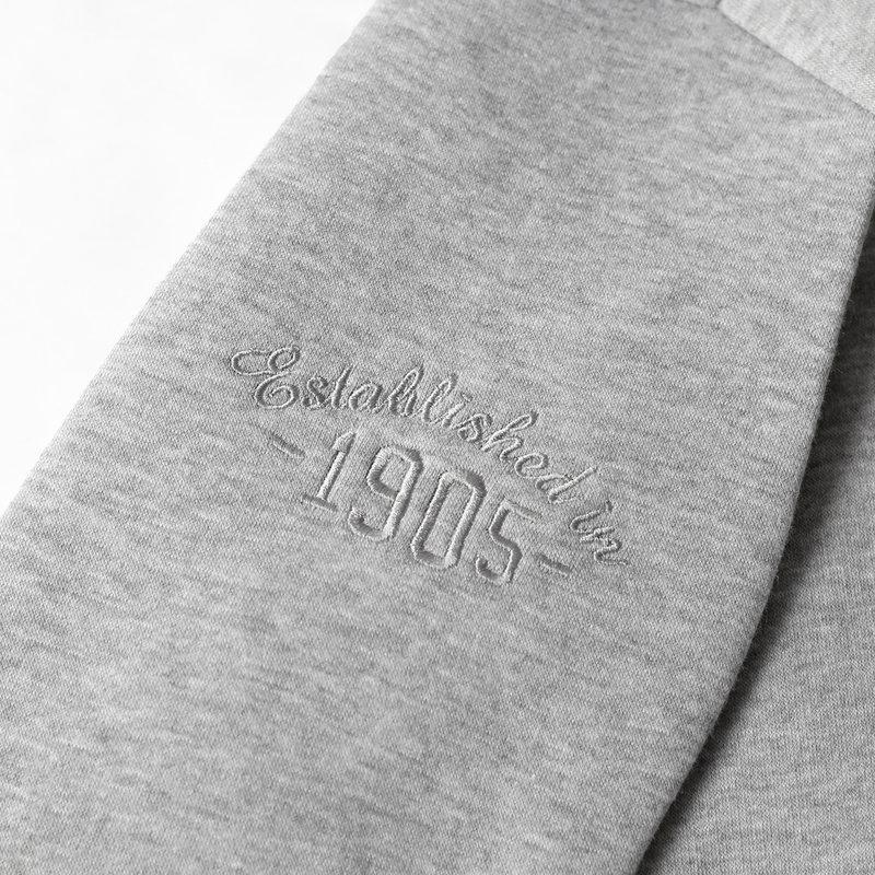 Q1905 Men's Pullover Zevenaar - Light Gray