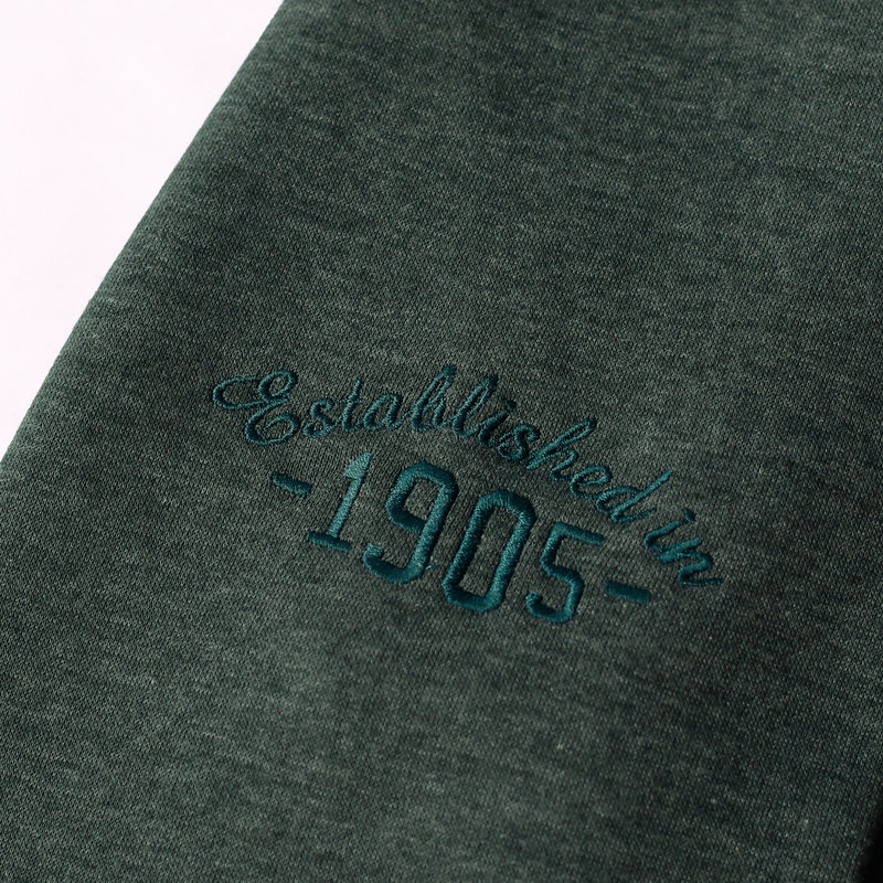 Q1905 Men's Pullover Zevenaar - Dark Green