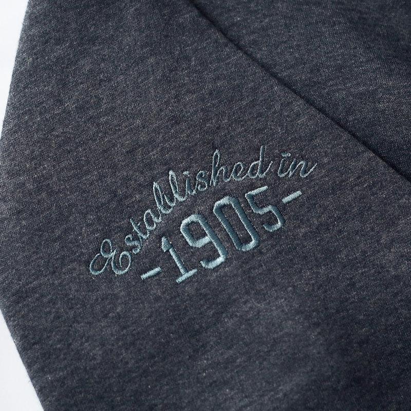 Q1905 Heren Vest Amerongen  -  Denim Blauw