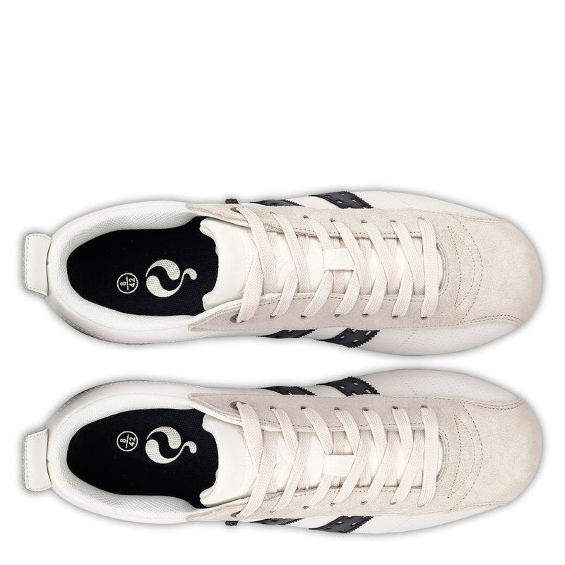 Q1905 Heren Sneaker Typhoon Sp  -  Wit/Donkerblauw