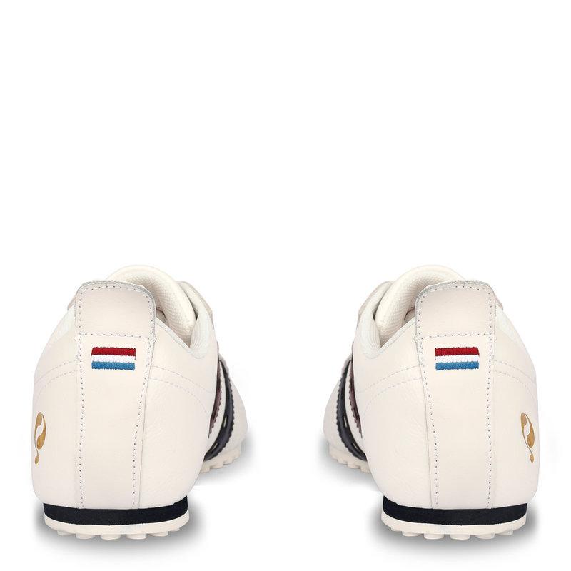 Q1905 Heren Sneaker Typhoon Sp  -  Wit/Rood-Donkerblauw