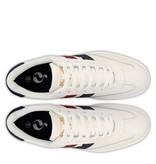 Q1905 Heren Sneaker Platinum  -  Wit/Rood-Donkerblauw