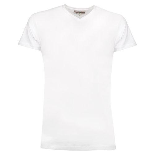 Heren T-shirt Diemen  -  Wit