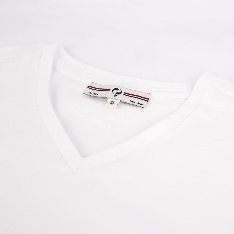 Q1905 Heren T-shirt Diemen  -  Wit