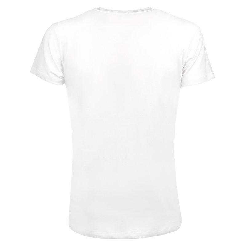 Q1905 Heren T-shirt Alphen  -  Wit
