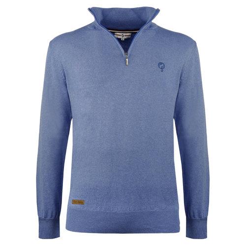 Heren Trui Castricum  -  Midden blauw