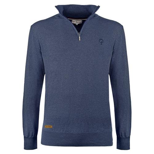 Men's Pullover Castricum - Denim blue