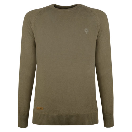 Men's Pullover Rozenburg - Khaki green