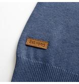 Q1905 Heren Trui Castricum  -  Denim blauw
