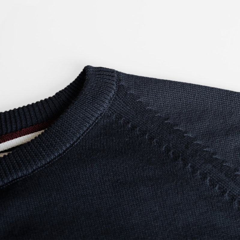 Q1905 Men's Pullover Rozenburg - Dark blue