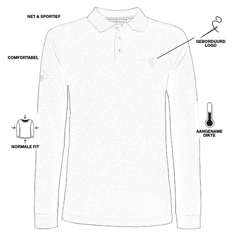 Q1905 Men's Polo Blaricum - White