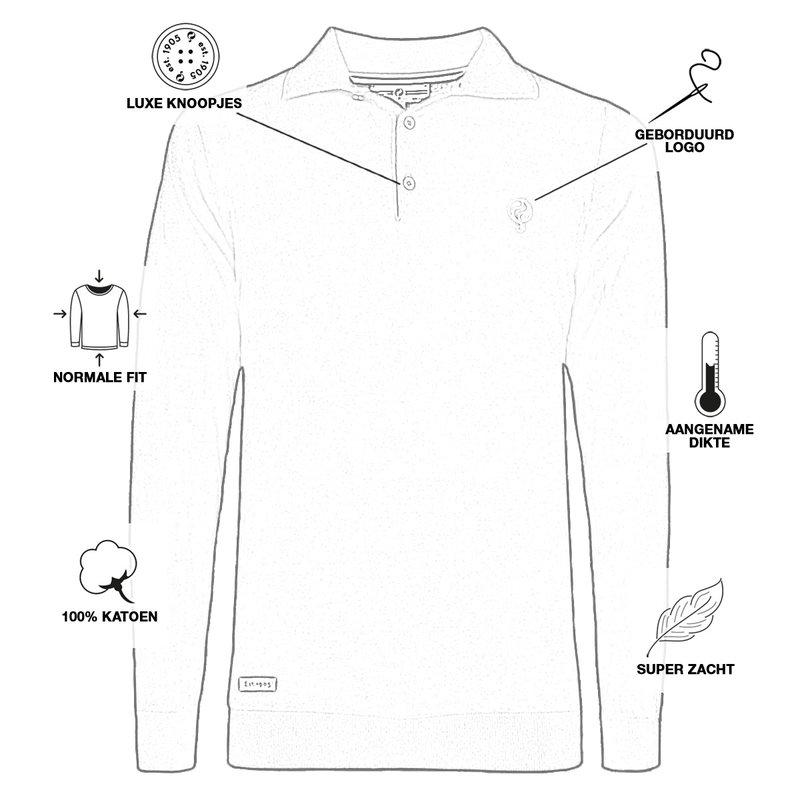 Q1905 Men's Pullover Lunteren - Black