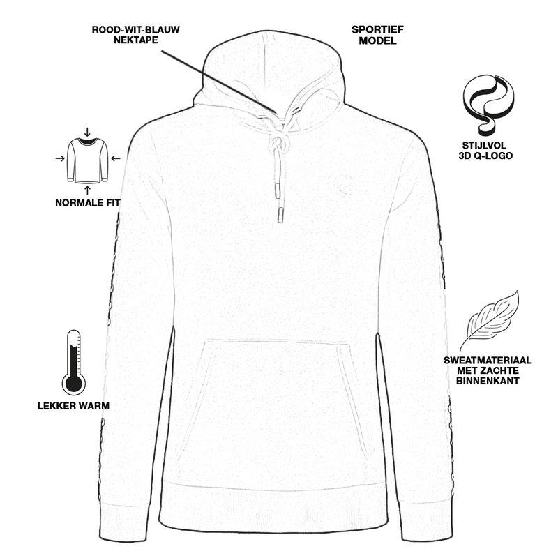 Q1905 Men's Pullover Oosterbeek - Light Gray
