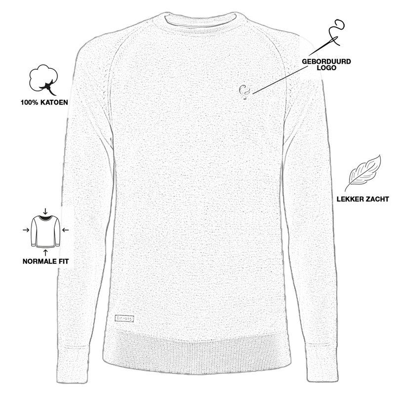 Q1905 Men's Pullover Rozenburg - Khaki green