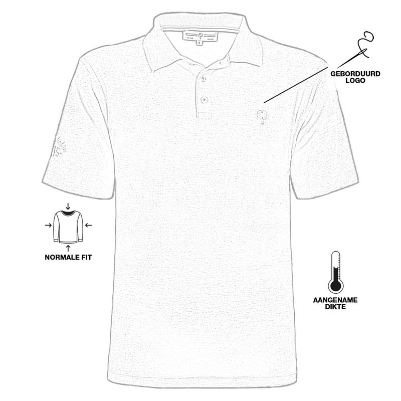 Q1905 Men's Polo Willemstad - Antracite Gray