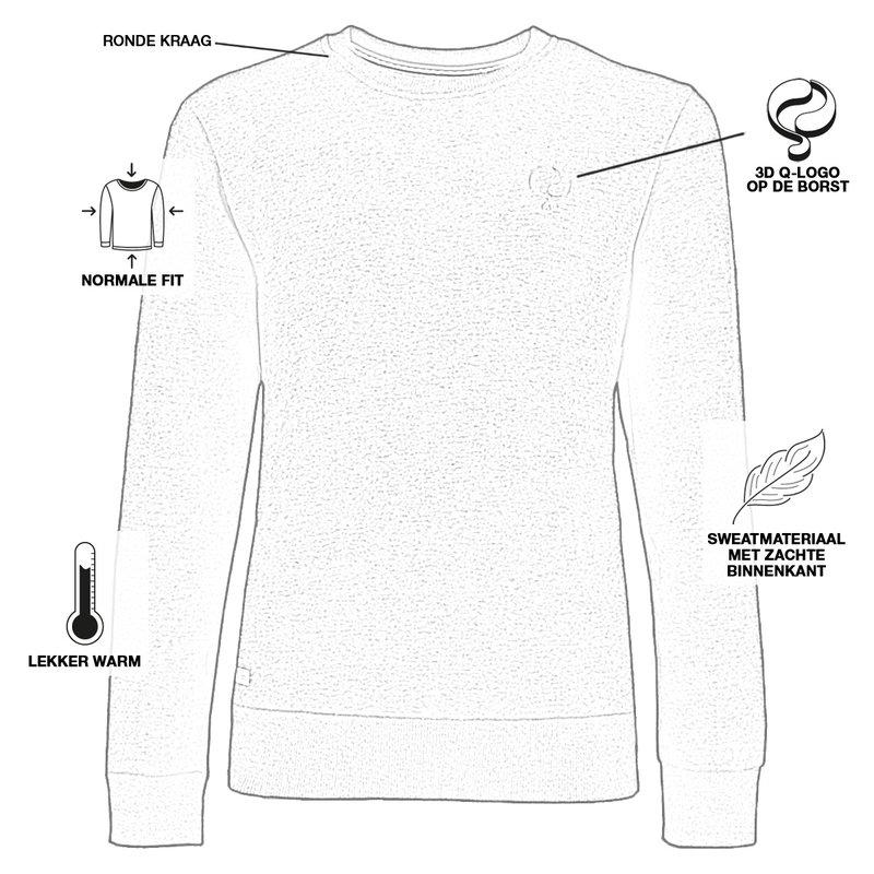 Q1905 Men's Pullover Zevenaar - Antracite Gray