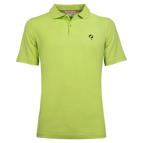 Men's Polo Approach - Lime Green