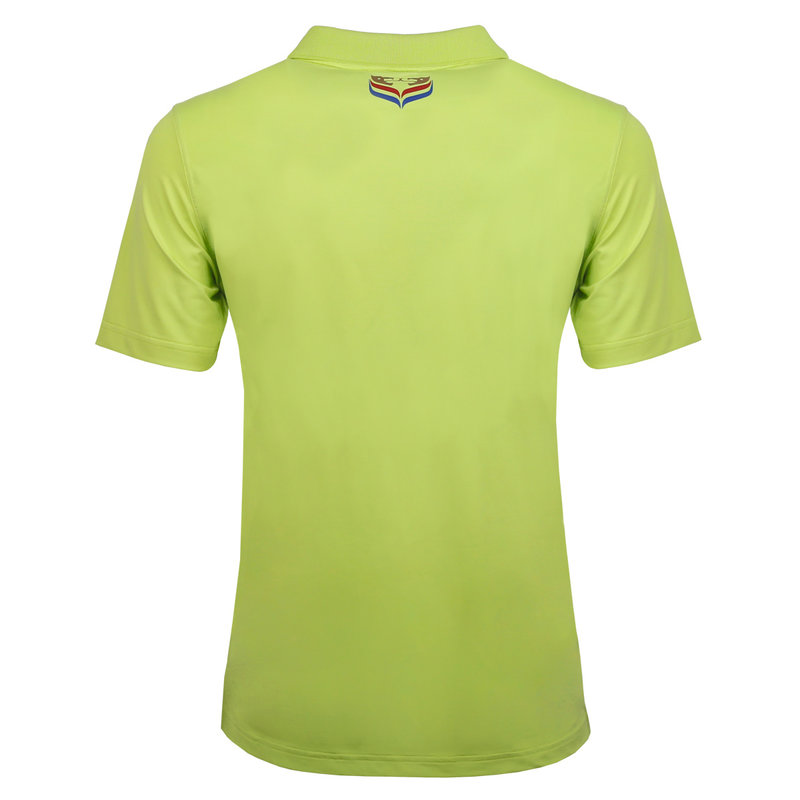 Q1905 Heren Polo Approach - Lime Groen