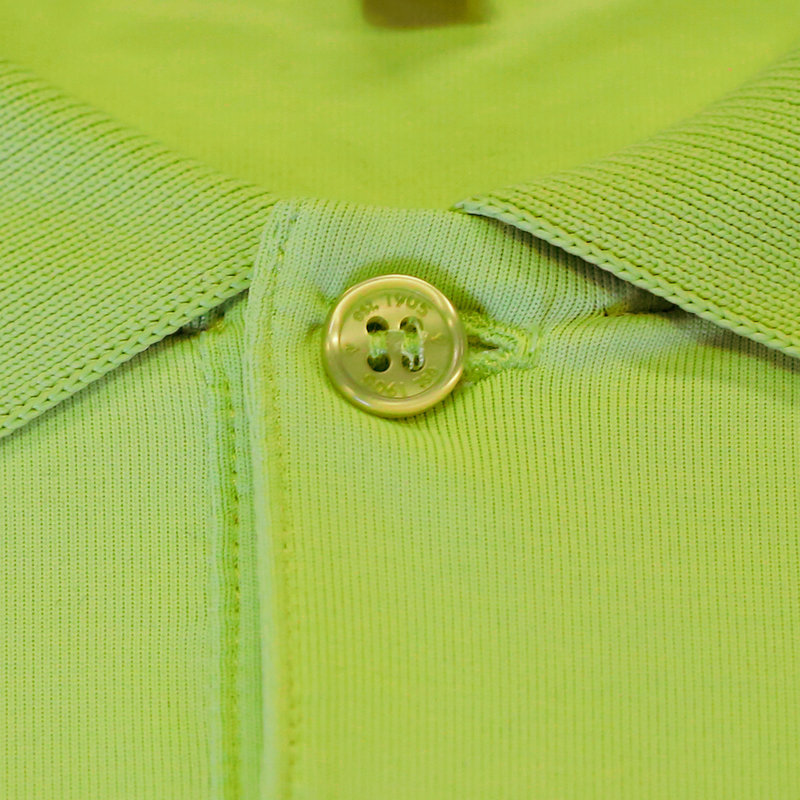 Q1905 Men's Polo Approach - Lime Green