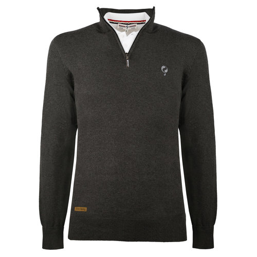 Men's Pullover Castricum  -  Antracite grey