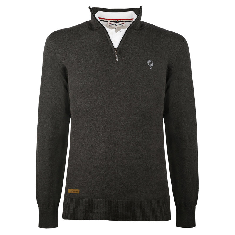 Q1905 Men's Pullover Castricum  -  Antracite grey