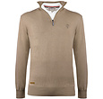 Q1905 Men's Pullover Castricum - Taupe