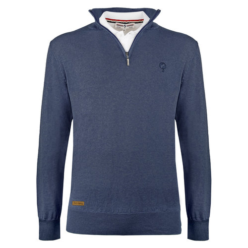 Men's Pullover Castricum - Denim blue