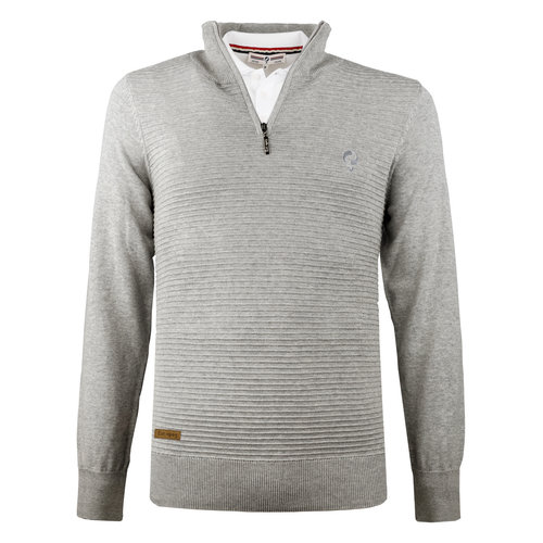 Men's Pullover Woudrichem  -  Middle gray