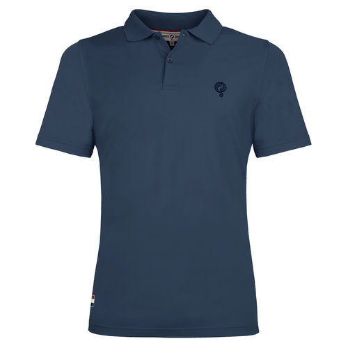 Heren Polo Approach - Denim Blauw