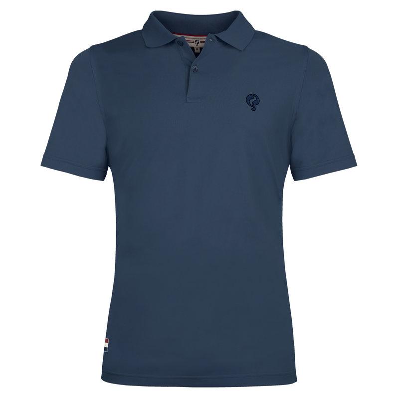 Q1905 Men's Polo Approach - Denim Blue