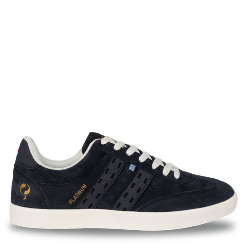 Men's Sneaker Platinum  -  Deep Navy/Denim Blue
