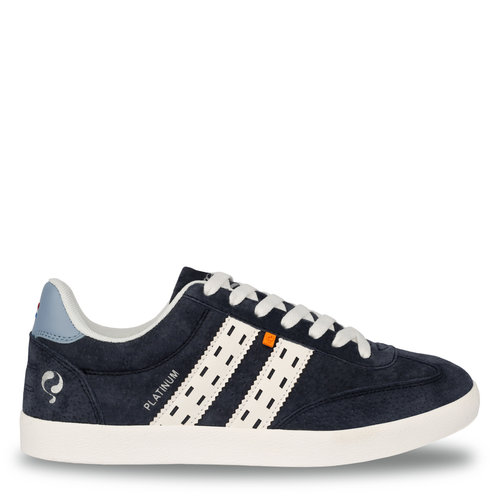 Men's Sneaker Platinum  -  Deep Navy/White