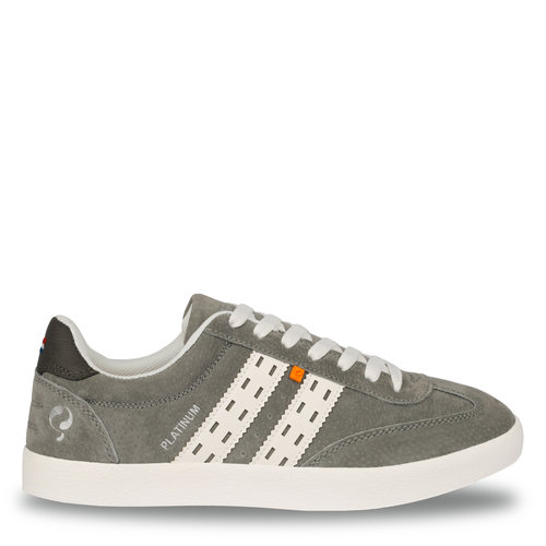Men's Sneaker Platinum  -  Light Grey/White