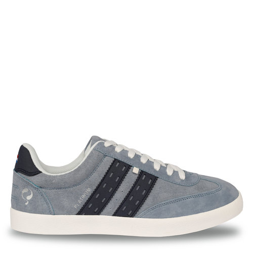 Men's Sneaker Platinum  -  Light Blue/Denim Blue