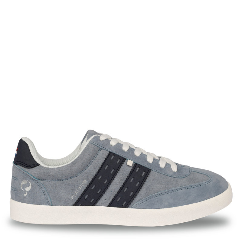 Q1905 Men's Sneaker Platinum  -  Light Blue/Denim Blue