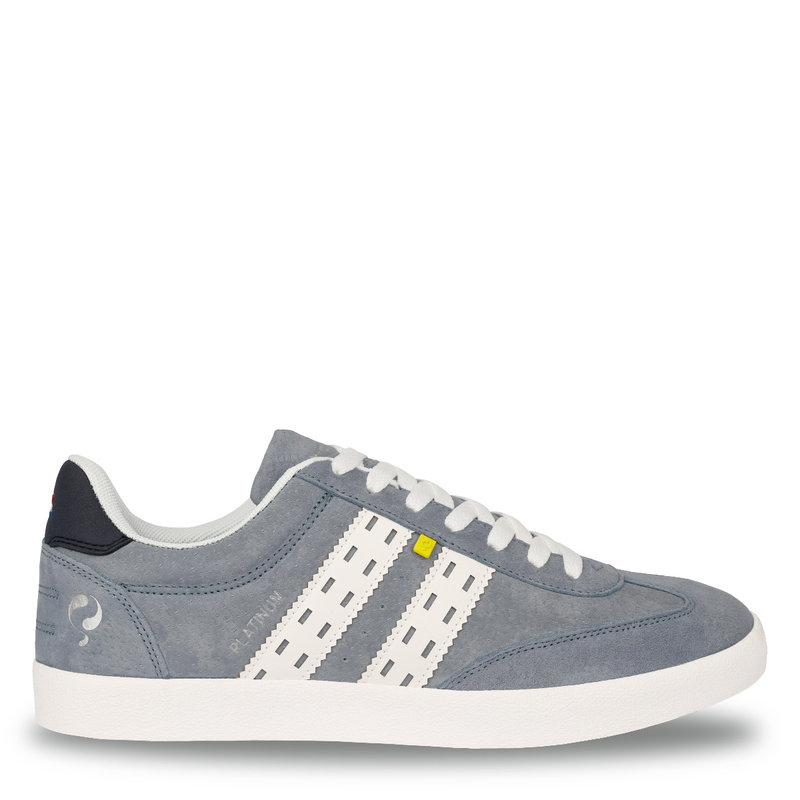 Q1905 Men's Sneaker Platinum  -  Light Blue/White