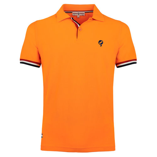 Heren Polo Matchplay - Licht Fluor Oranje