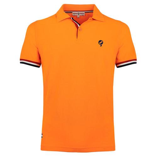 Heren Polo Matchplay - Light Fluor Orange