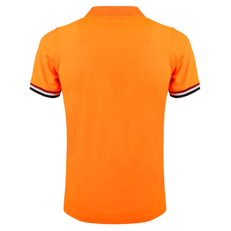 Q1905 Heren Polo Matchplay - Licht Fluor Oranje