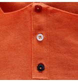 Q1905 Heren Polo Willemstad - Retro oranje