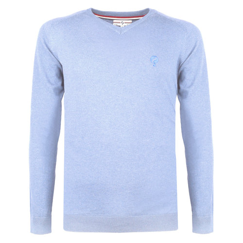 Men's Pullover Heemskerk - Light blue
