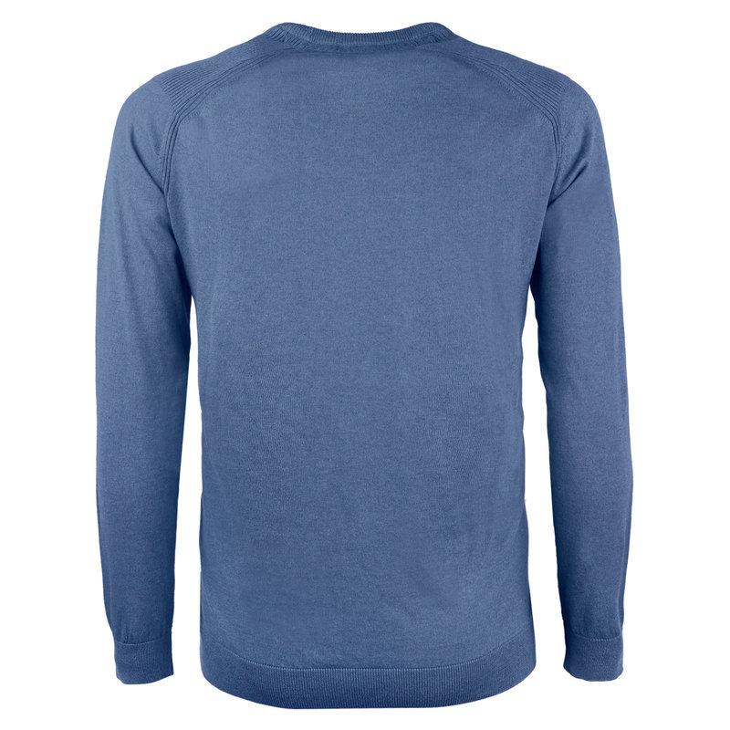 Q1905 Heren Trui Leusden - Midden blauw